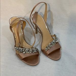 Badgley Mischka jewel shoes!